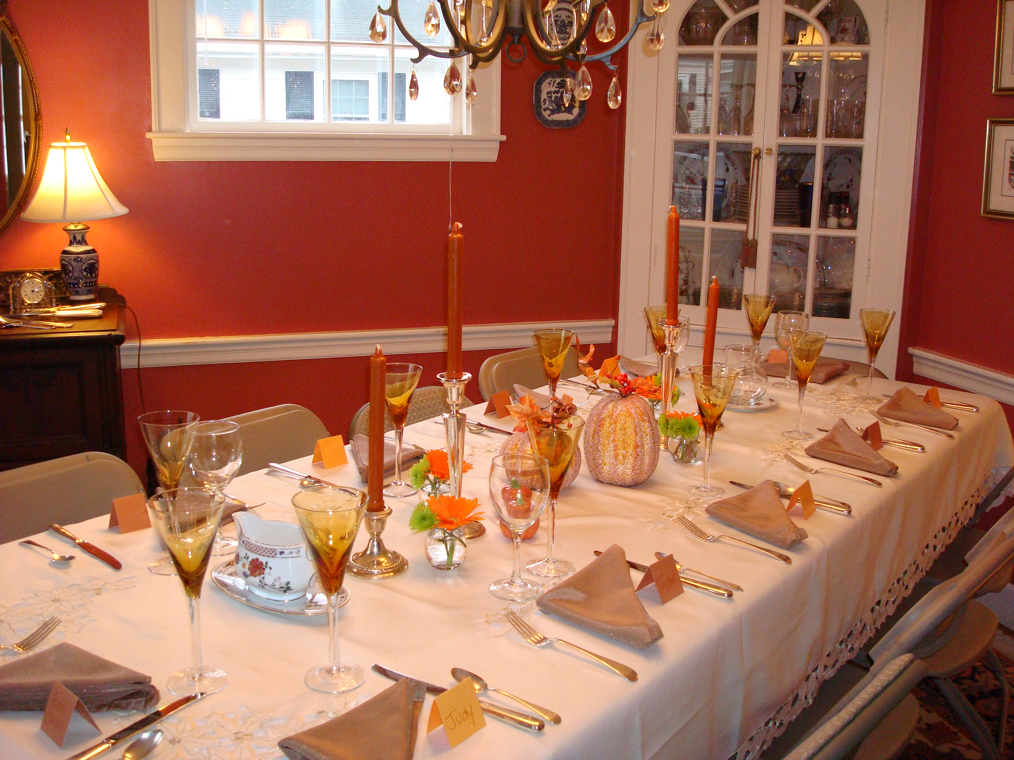 301 moved permanently Decorating thanksgiving table